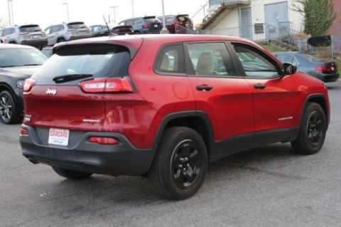 Pre-Owned 2016 Jeep Cherokee Sport Four Wheel Drive SUV