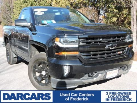 Pre-Owned 2016 Chevrolet Silverado 1500 LT 4WD Regular Cab Pickup