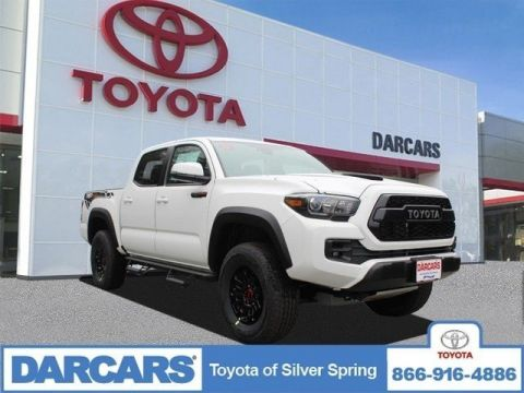New 2019 Toyota Tacoma 4WD TRD Pro Double Cab 5' Bed V6 MT (Natl)